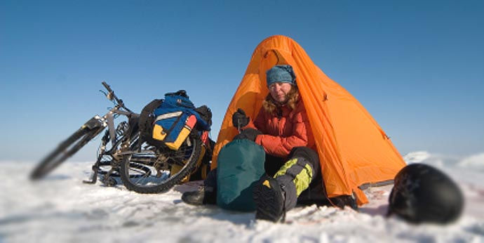 arctic cycle camping