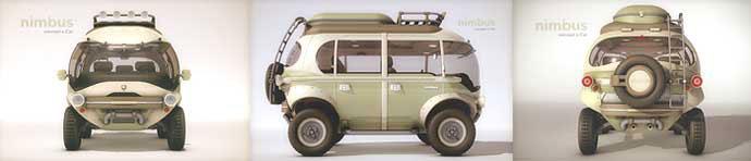 Nimbus hybrid electric adventure vehicle camper van