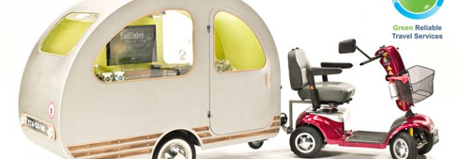 scooter trailer caravan QTvan