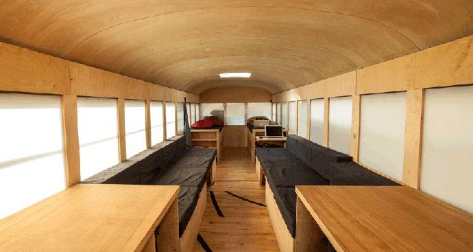 Worlds coolest camper van