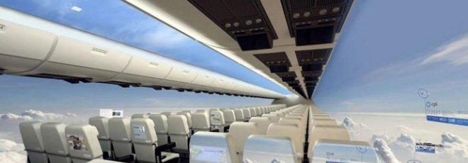 transparent fuselage