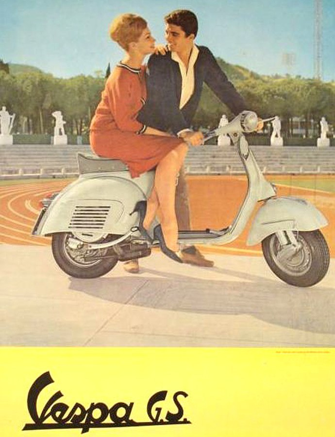 vespa electric scooter