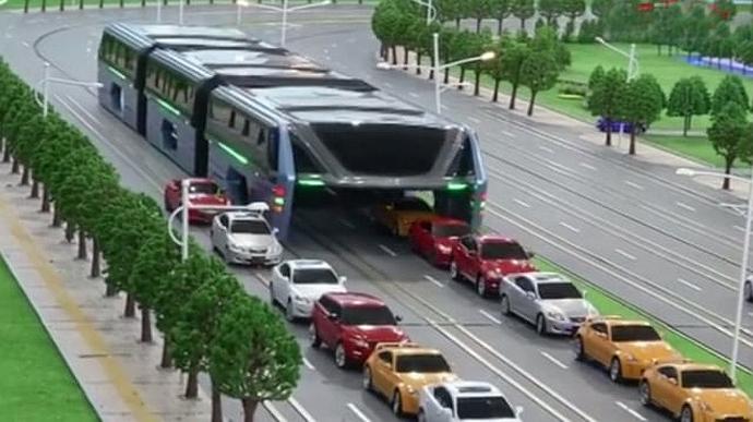 world's largest bus