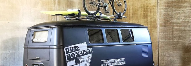 dub box VW camper caravan trailer