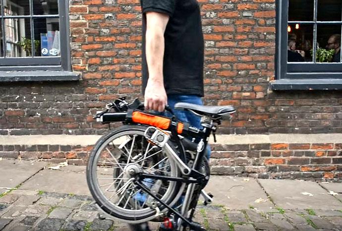 Brompton carrying handle